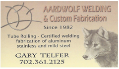 Aardwolf Welding & Custom Fabrication